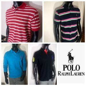 Ralph Lauren premium 4 Sz Med Polo's Bundle!